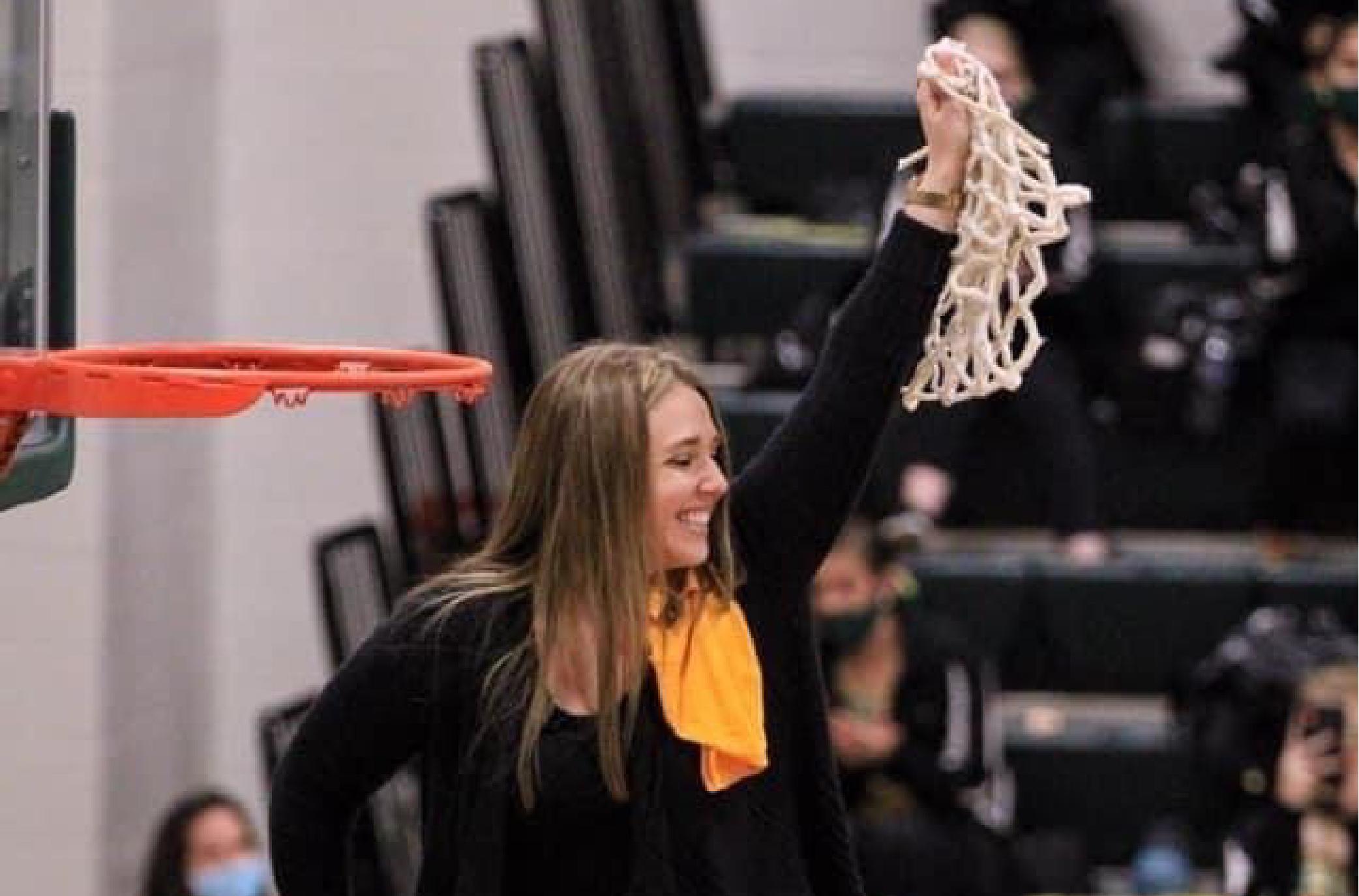 Head Girls Basketball Coach Morgan Hale