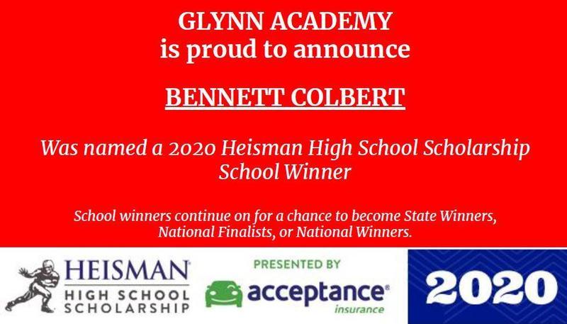 Bennett Colbert Named 2020 Heisman High School Scholarship School Winner Featured Photo