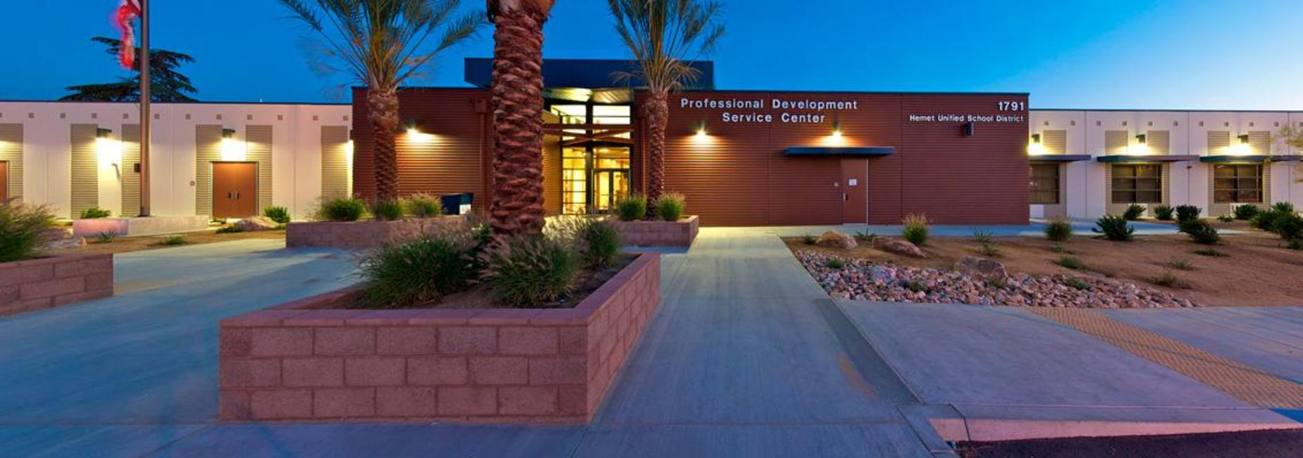 Hemet Unified's District Office