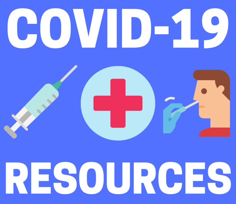 COVID 19 Resources Graphic