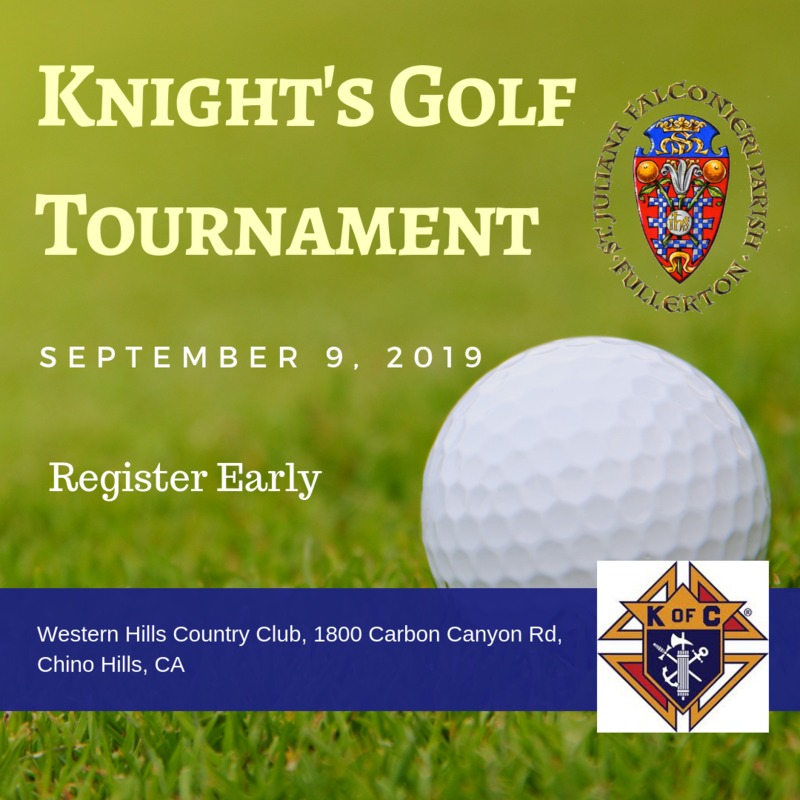 Knights of Columbus Golf Tournament Featured Photo