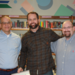 NIck Hamm with Dr. Sementi and Dusty Andres
