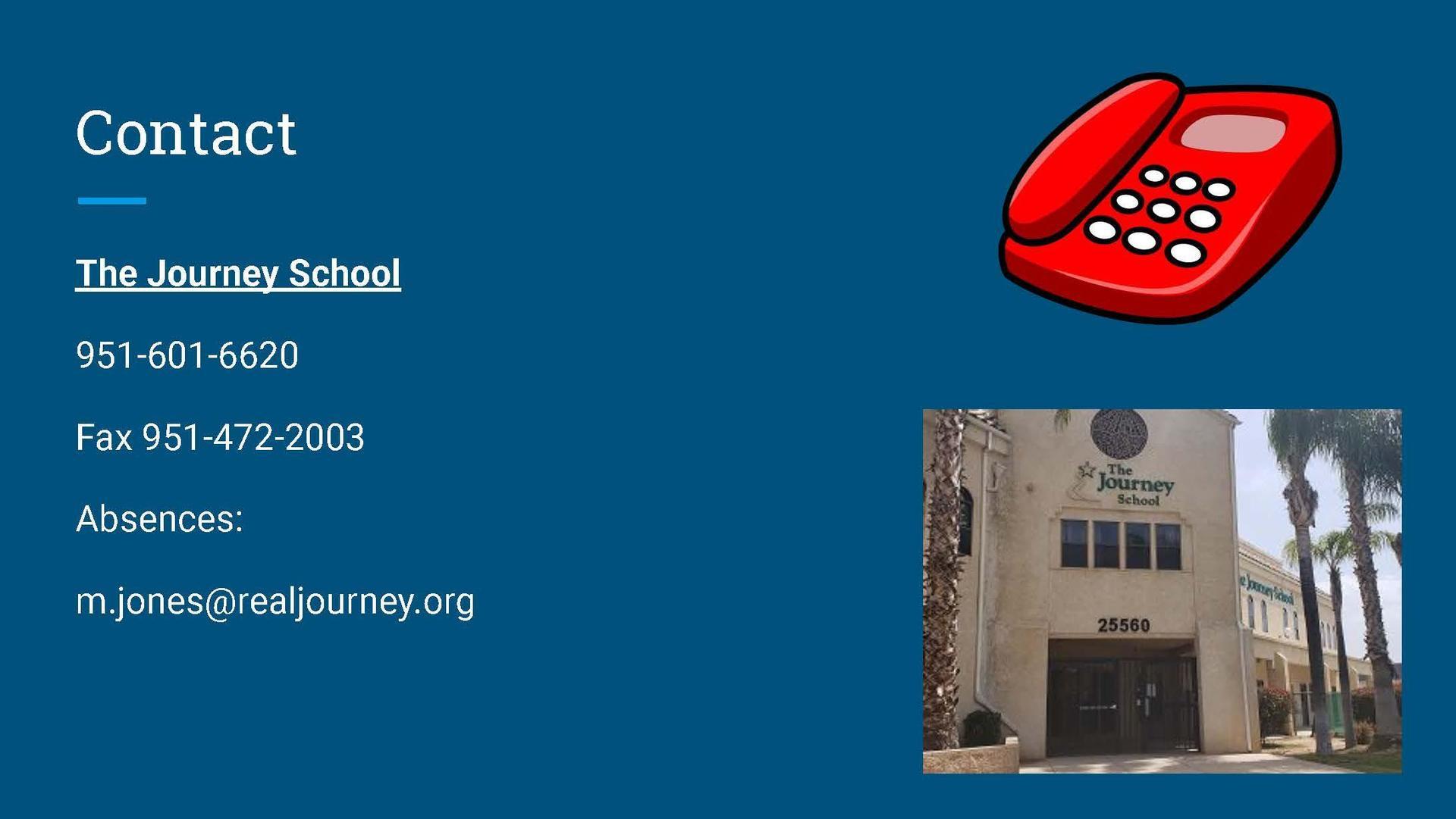 Contact us at 951-601-6620
