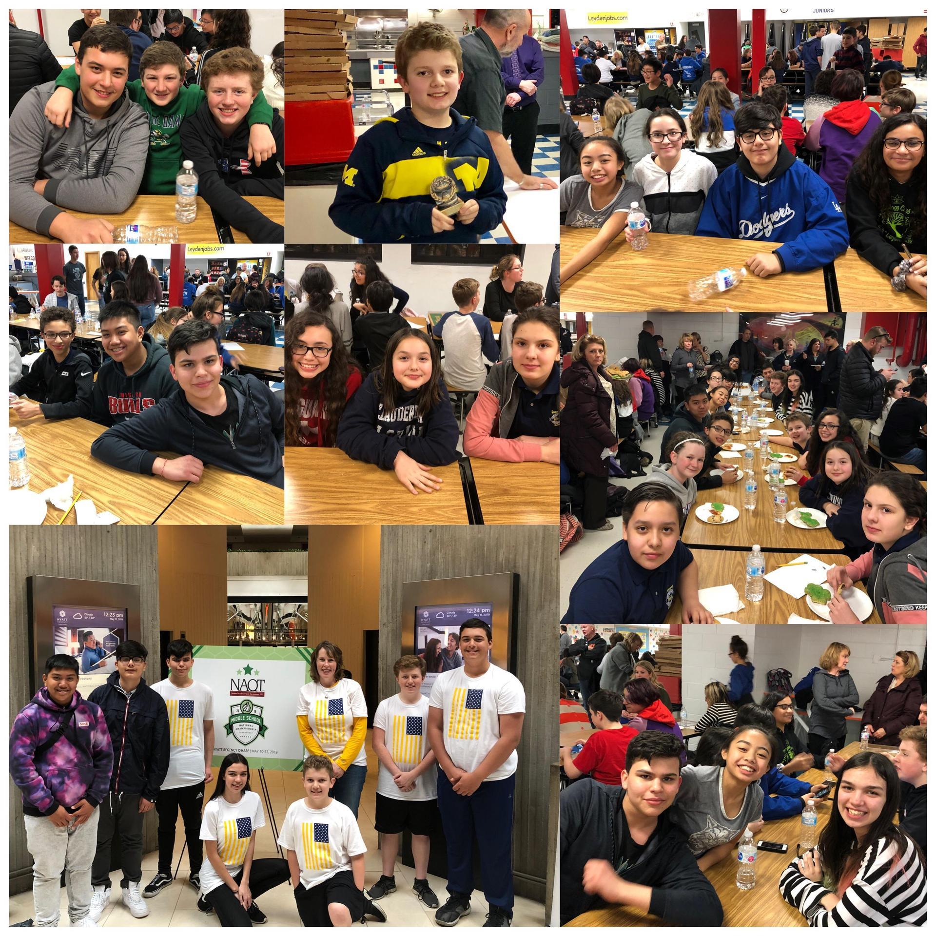 Scholastic Bowl 2019 Collage