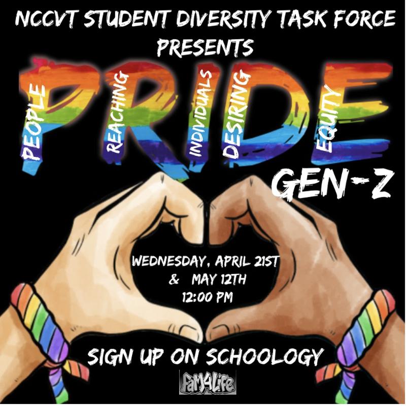 Pride GenZ flyer
