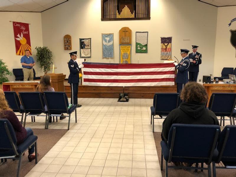 U.S. Air Force Honor Guard visits TCCA 5.27.21 Featured Photo