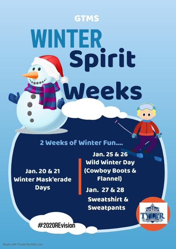 Winter Spirit Weeks