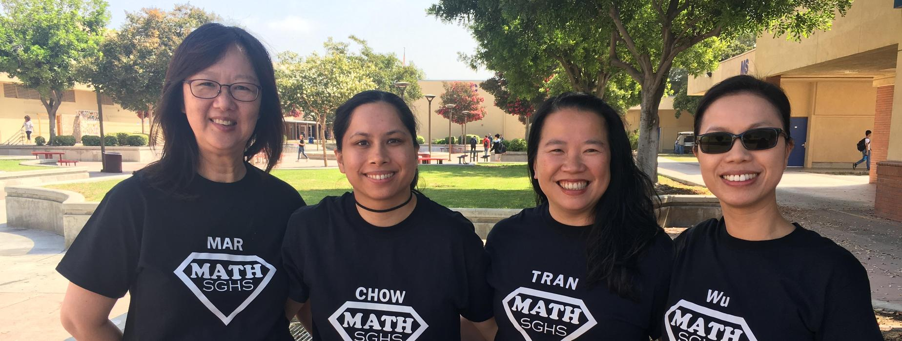 SGHS Math Teachers