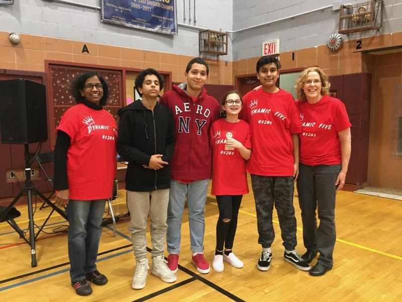 Dynamic Five Robotic Team Wins Third Place Featured Photo