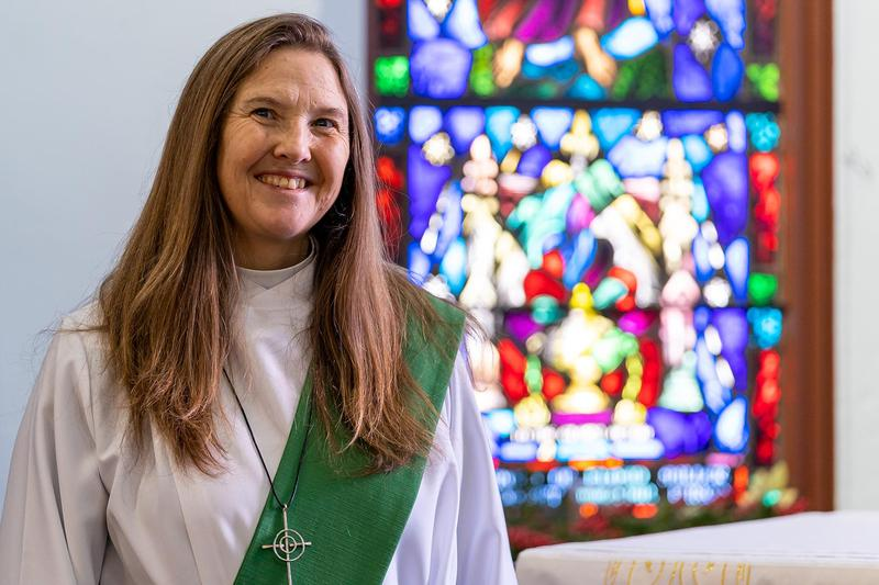 The Rev. Kathy Boss, Chaplain.