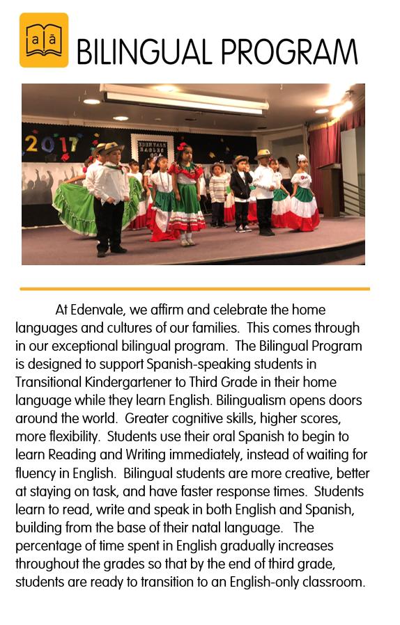 Bilingual Program