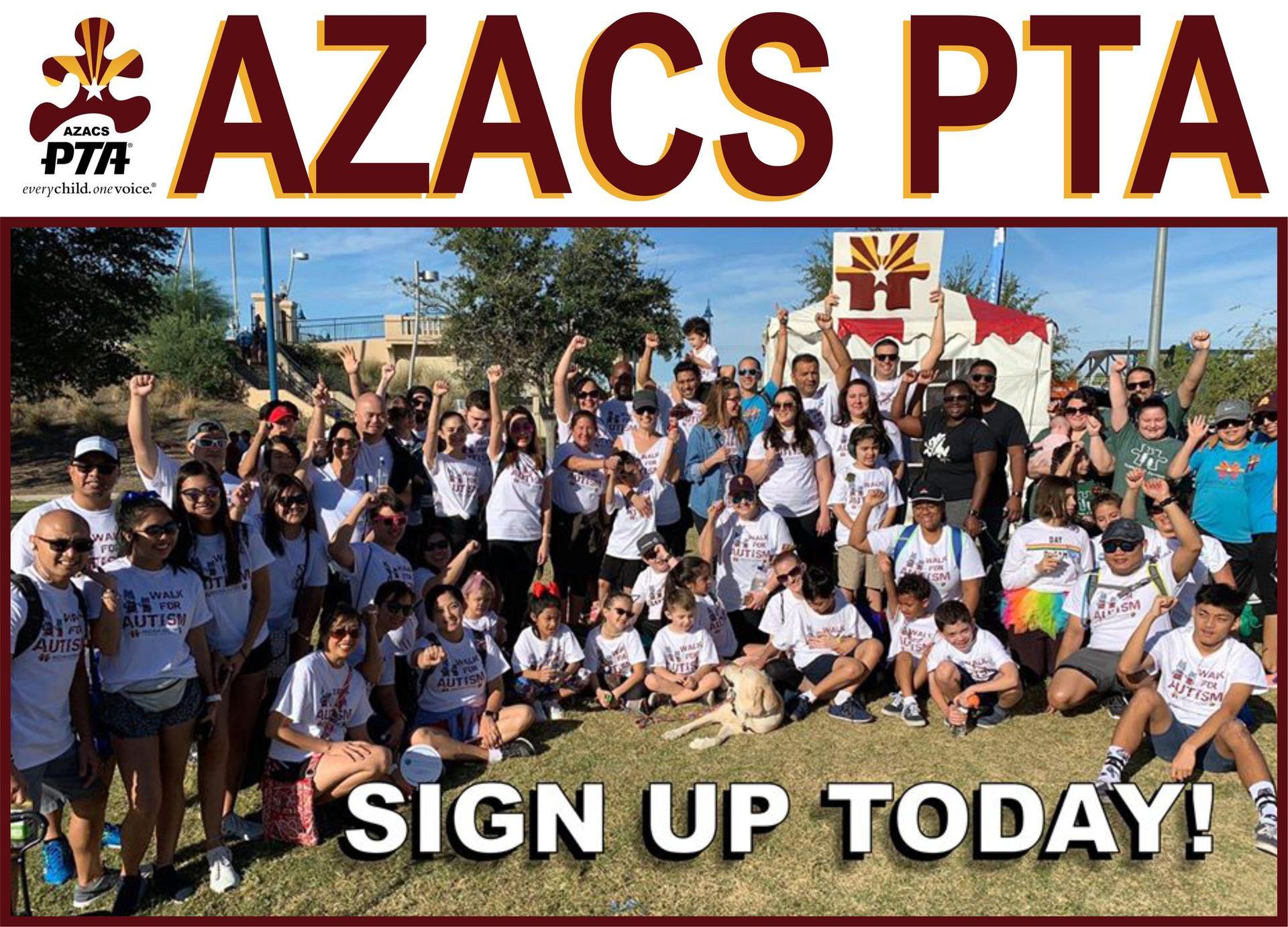 AZACS PTA Sign Up