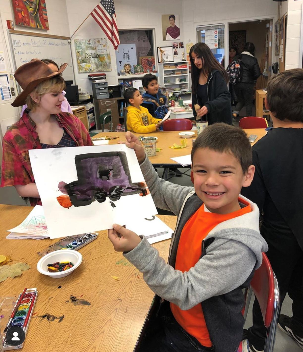Student Art Mentors