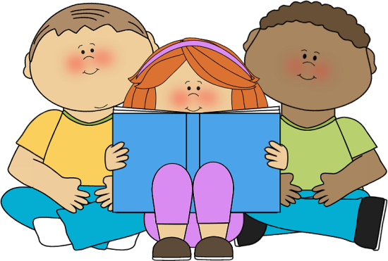 kids reading image