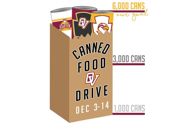 Canned Food Drive Now through Fri, Dec 14th! Thumbnail Image