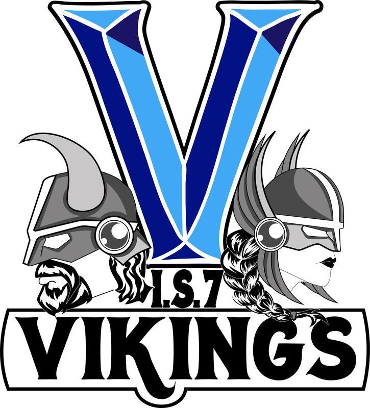 Vikings IS 7 school logo