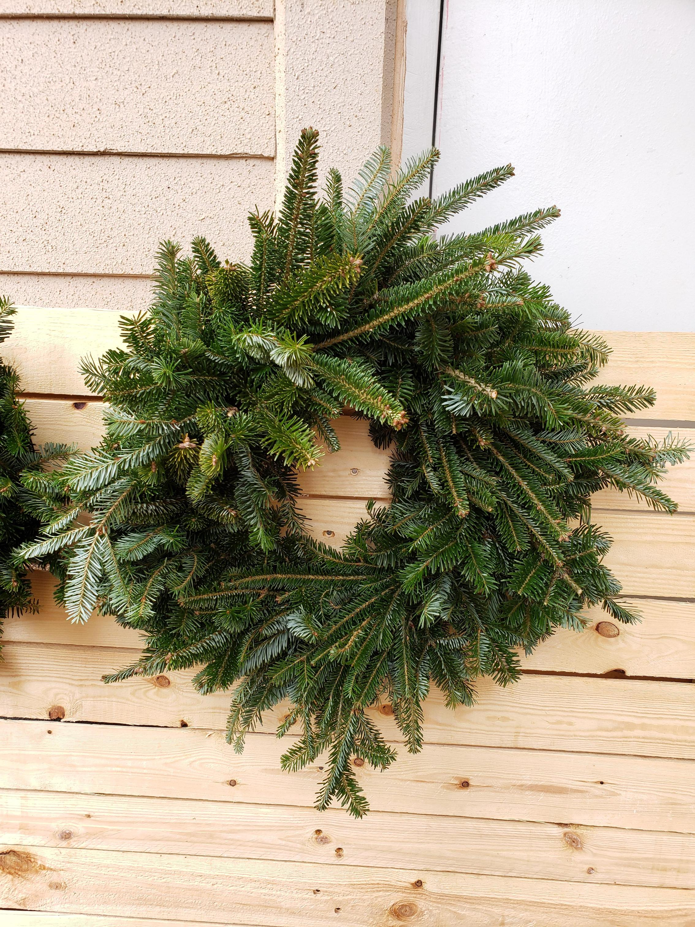 FFA Students are making Christmas wreaths Image