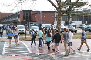 Photo of Community Service Week efforts at Westfield High School
