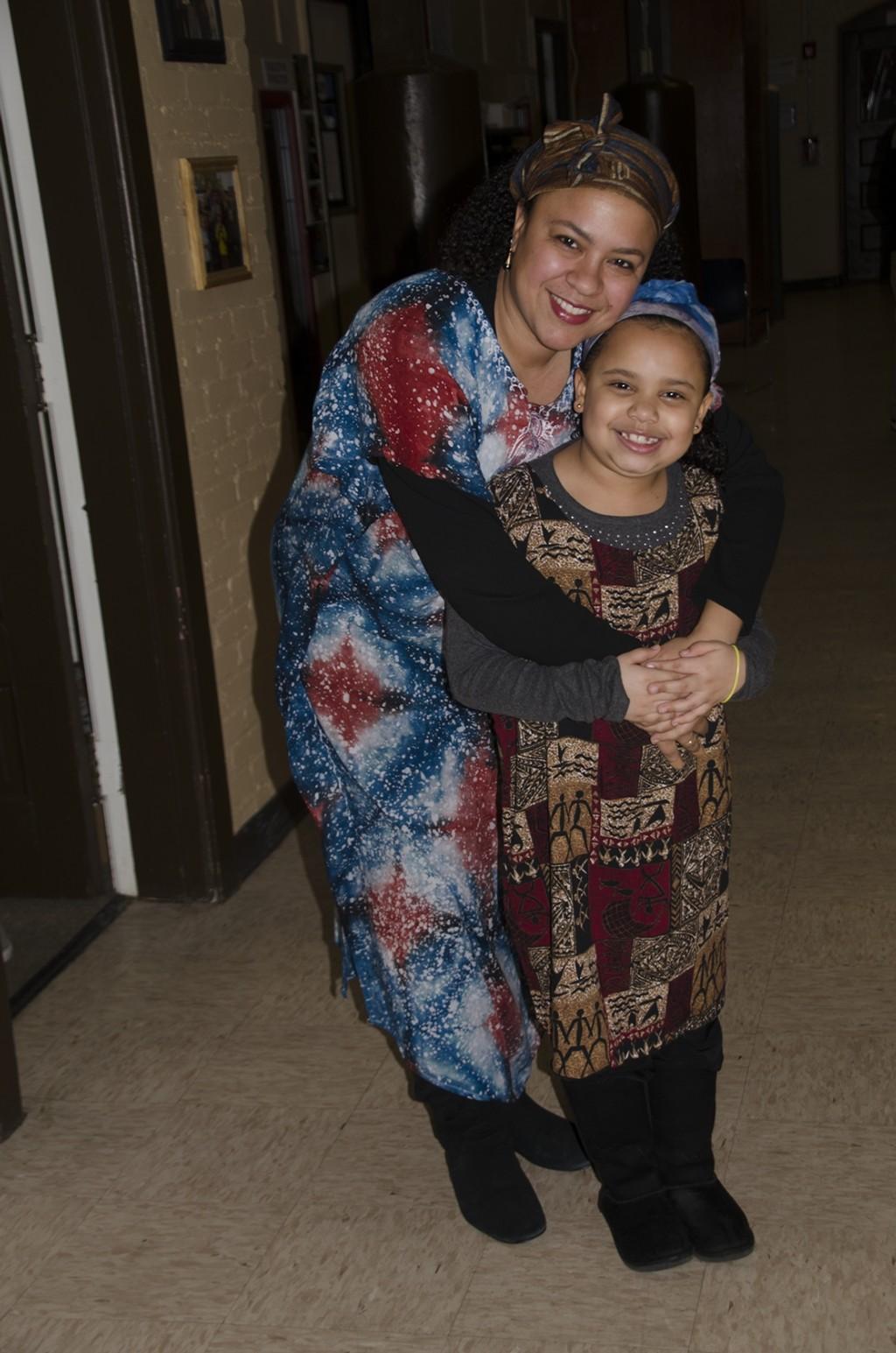 Ms. Monteiro and Gianna