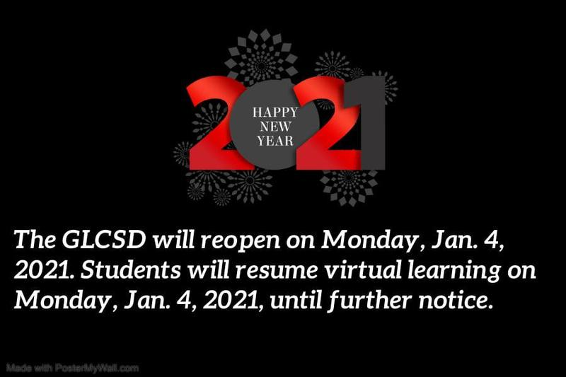 DISTRICT REOPENS JAN. 4 Featured Photo