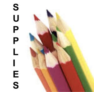 Supplies:  Pencils