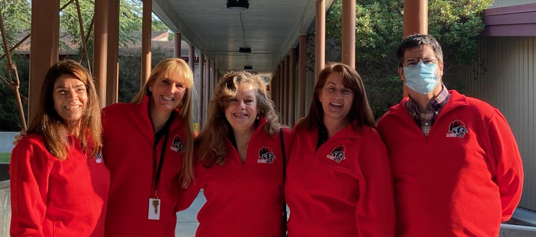 SLVMS Staff at Opening Day 2021
