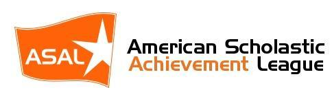 The American Scholastic Challenge logo: a flag with a star in it.