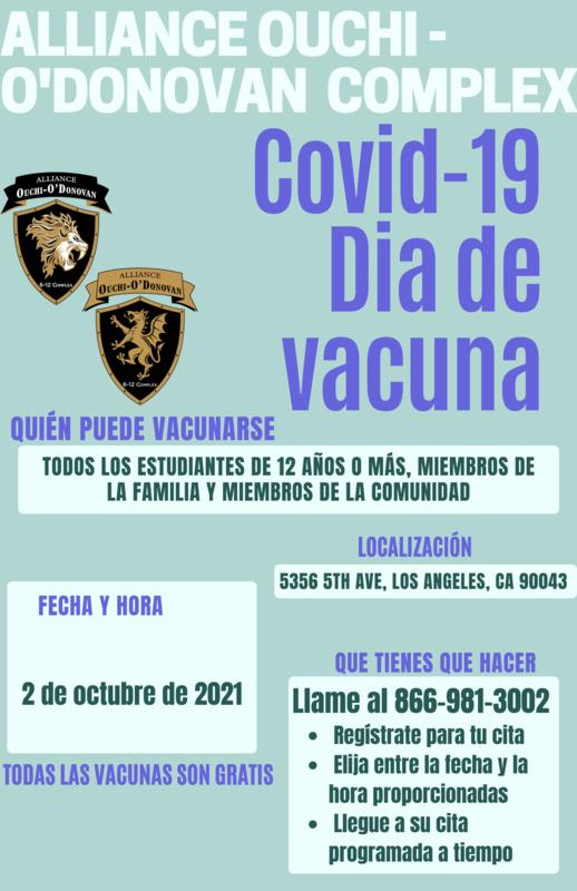 COVID-19 Vaccine Day / COVID-19 Día de Vacuna Thumbnail Image