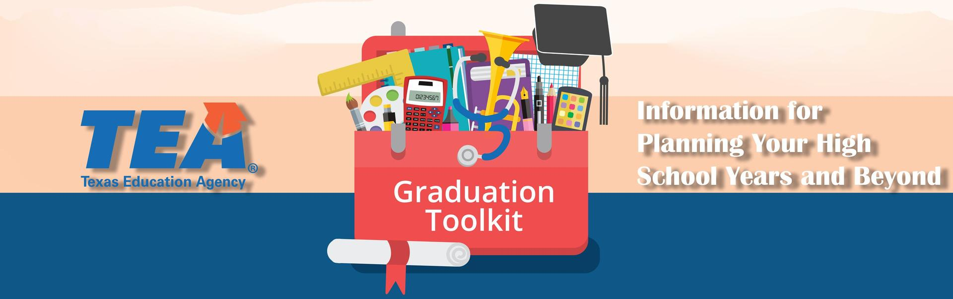 Graduation tool kit banner