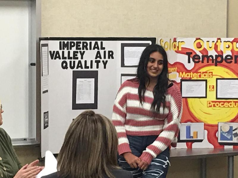 Science Fair Winners Present to School Board Thumbnail Image