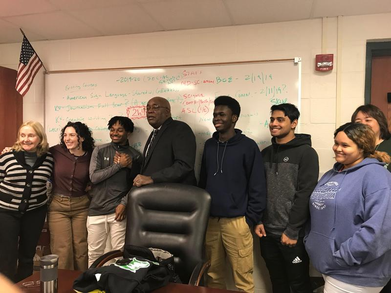 Picture of Upstanders Group Visit from Ken Nelson of NAACP