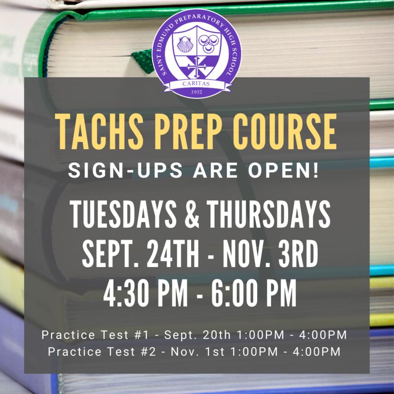 TACHS Prep Course Featured Photo