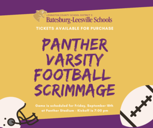 How To Purchase Varsity Football Tickets For This Friday's Scrimmage