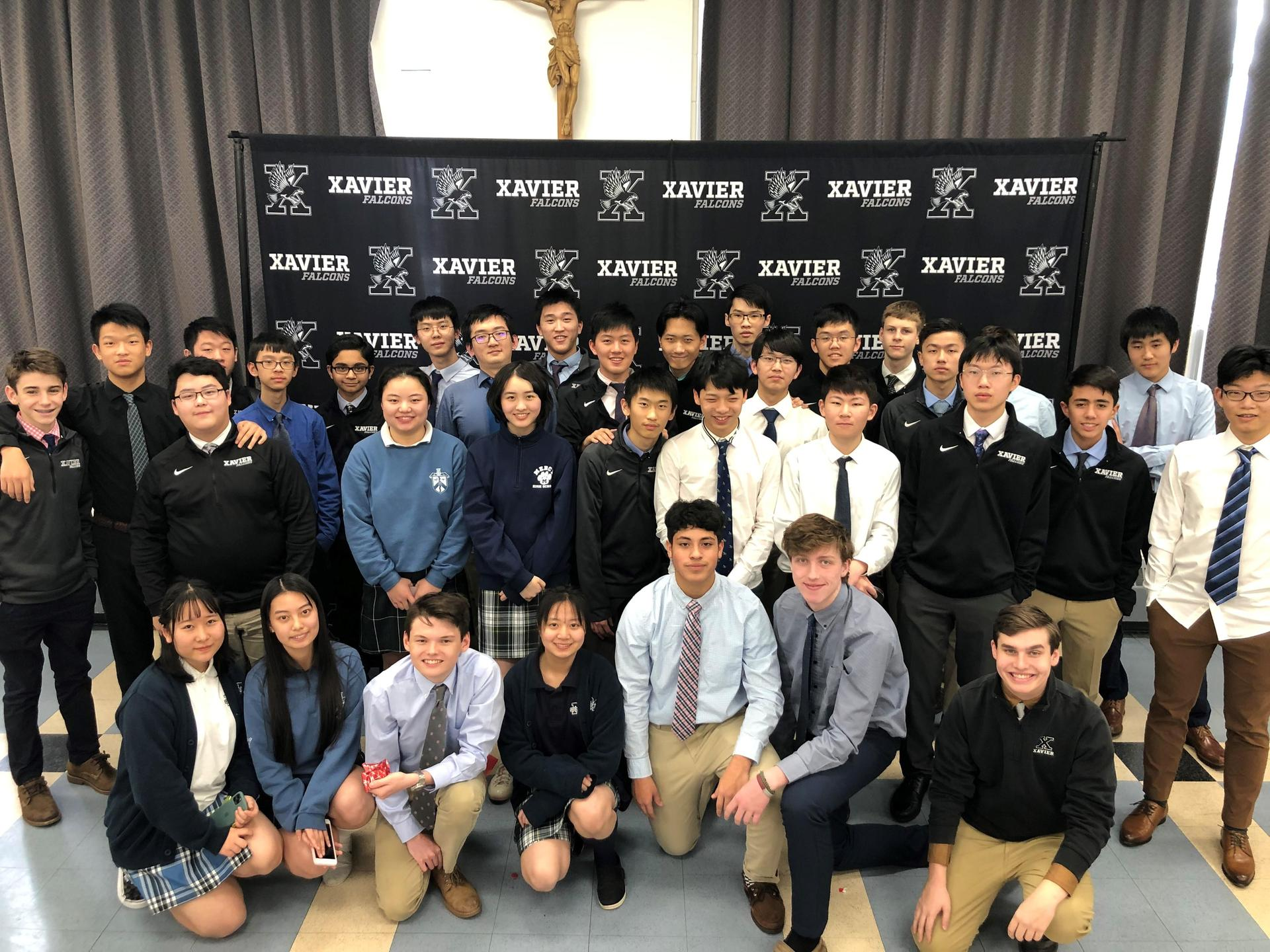 At the start of the 2019-2020 school year, Xavier welcomed 22 international students to Xavier High School. It was our largest group of international students. We can't wait to welcome the next group of international students to Xavier this upcoming school year.