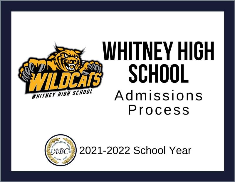 Whitney High School Admissions Process