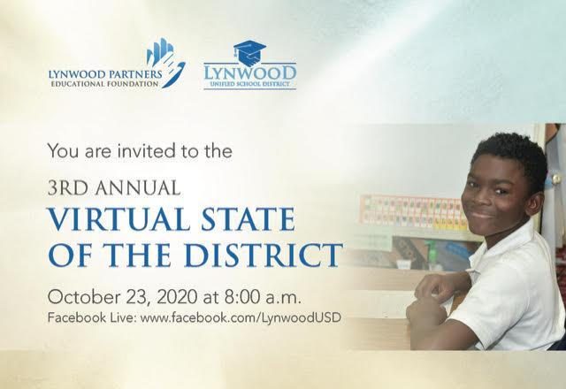 You Are Invited to the State of the District Virtual Event Oct. 23! Featured Photo