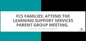 LSS Parent Meeting