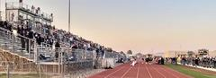 Grape Creek's Football Stands