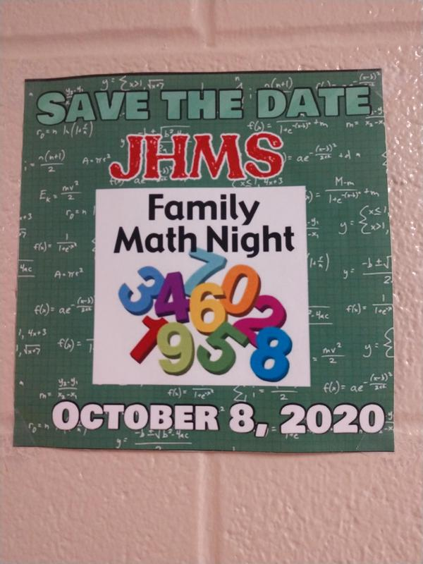 MATH FAMILY NIGHT  COME JOIN US!!! Thumbnail Image