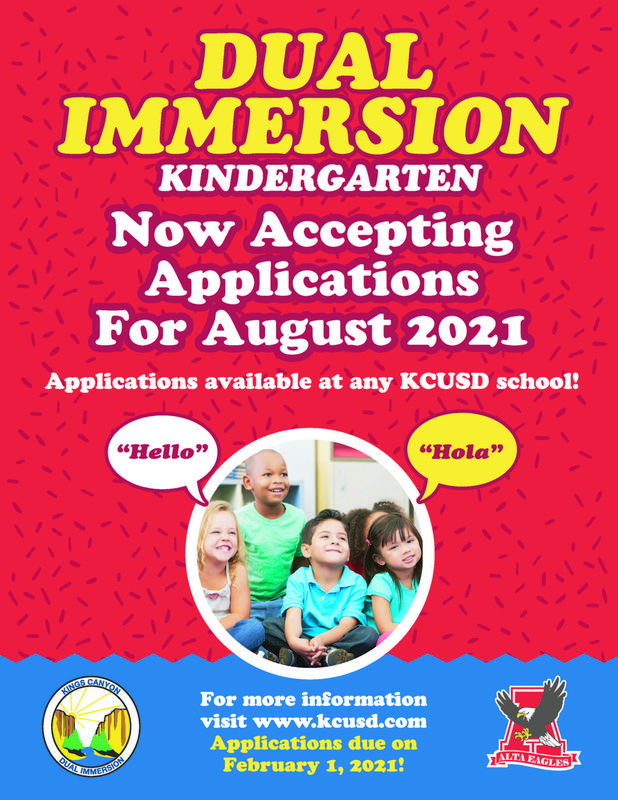 Dual Immersion English Flyer