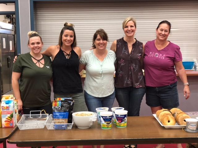Parent Volunteers at Seven Hills