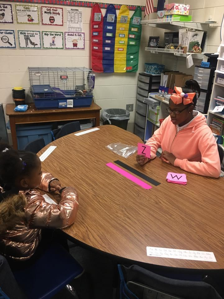 Working in Kindergarten