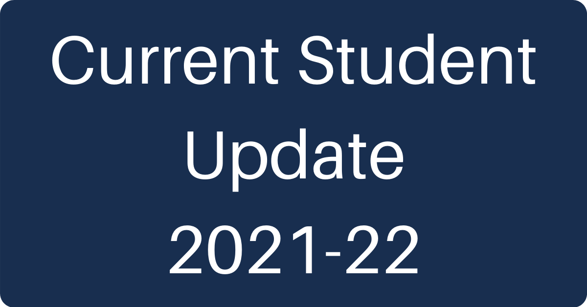 current student status update button