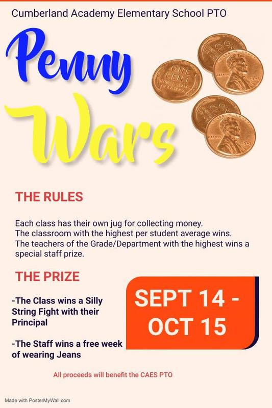 Penny Wars PTO Fundraiser Featured Photo