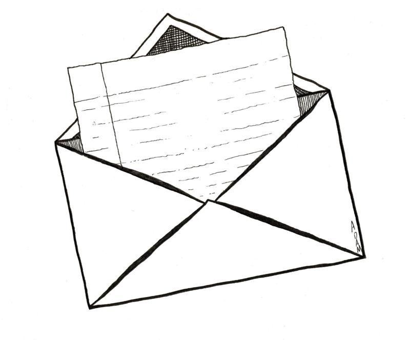 Open Envelope/letter