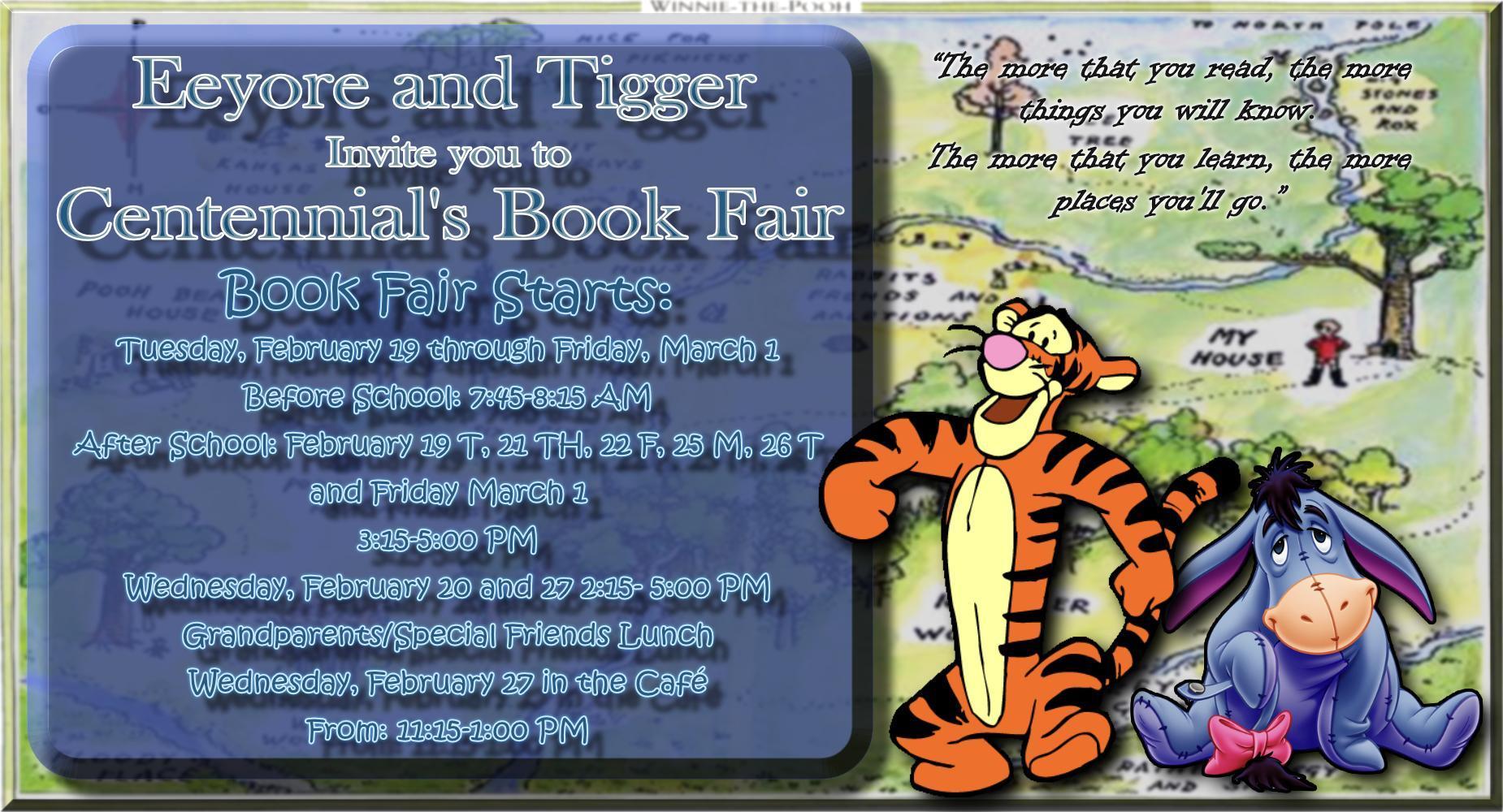 Centennial Book Fair