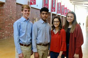 CHS National Merit and Hispanic Scholars