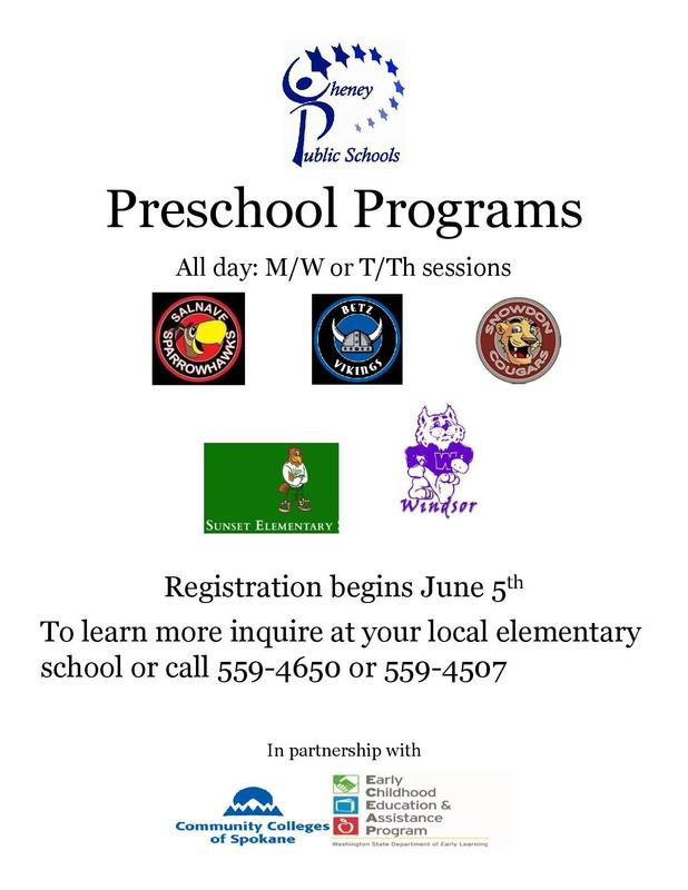 Preschool Registration Thumbnail Image