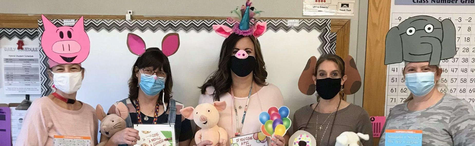 1st Grade Team Dress up as your Favorite Character