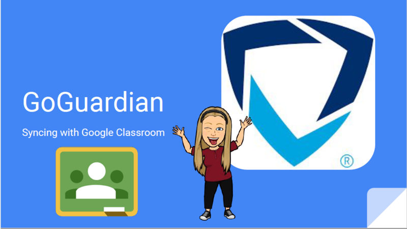 GoGuardian Syncing with Google Classroom